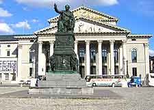 Further picture of the Bavarian State Opera House (Nationaltheater)