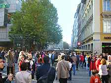 Picture of the pedestrian zone