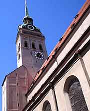Picture of St. Peters Church (St. Peterskirche) in Munich