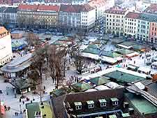Further photo of the Viktualienmarkt