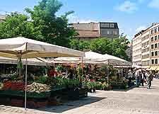 Image of the Viktualienmarkt