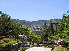 View of the Peace Park