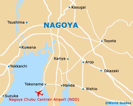 Small Nagoya Map