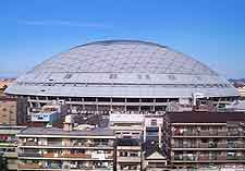 Photo of the Dome baseball stadium