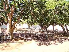 Further view of alfresco dining option at the Etosha National Park
