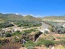 Epupa Falls view