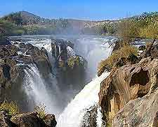 Close-up picture of the Epupa Falls