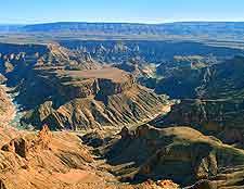 Fish River Canyon scene