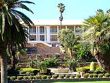 Photograph showing the Parliament Gardens at Windhoek