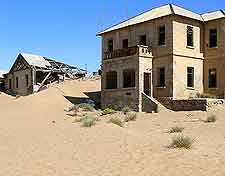Kolmanskop 'ghost town' photo