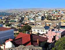 View of the Luderitz townscape