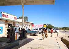 Picture of petrol station in Windhoek area