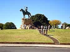 Equestrian statue in Windhoek, erected as a war memorial