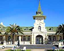 Photo of famous hotel in Swakopmund