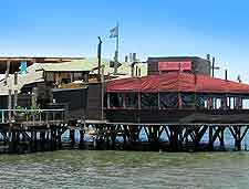 Photo of waterfront restaurant at Walvis Bay