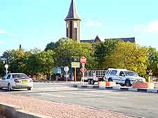 City centre image of Windhoek