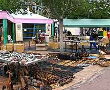 Market in downtown Windhoek