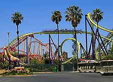 Image of the Six Flags Discovery Kingdom