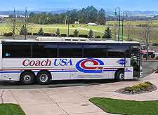 Picture showing local coach tour