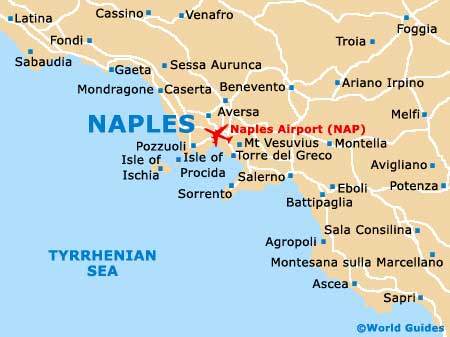 Map of Naples Airport NAP Orientation and Maps for NAP Naples Airport