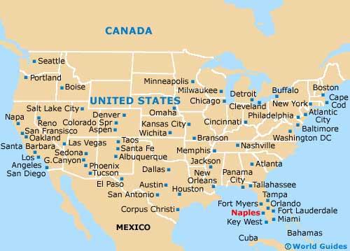 Florida Usa Map Cities.Naples Maps And Orientation Naples Florida Fl Usa