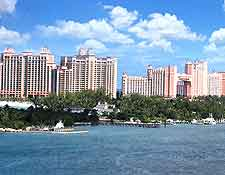 Distant view of Atlantis, Paradise Island