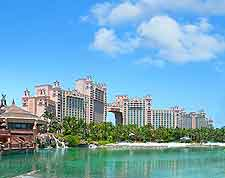 Photo showing the famous Atlantis Resort, on neighbouring Paradise Island