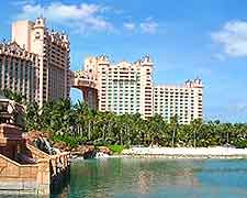 Further picture of the distinctive Atlantis Resort on Paradise Island