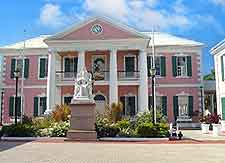 Picture of the Government House in Nassau