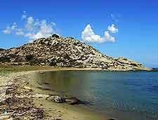 Picture of sandy coastline