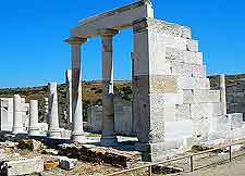 Image of the Temple to Demeter (Dimitra's Temple)