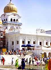 Photo of the Gurudwara Rakab Ganj