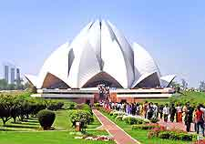 Image showing the Bahai Temple (Lotus Temple)