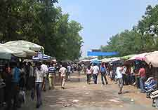 Picture of local city market