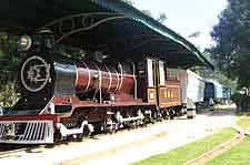 Image of historic train at the National Rail Transport Museum