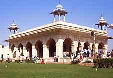 Picture of building within the Red Fort complex