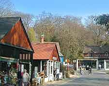 Picture of shops in Burley