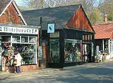 Photograph of Witchcraft shop at Burley