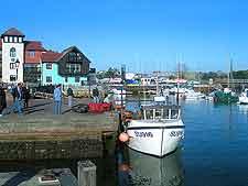 Lymington waterfront view