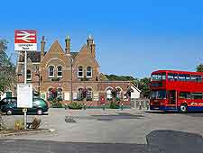Photo of Lymington train station