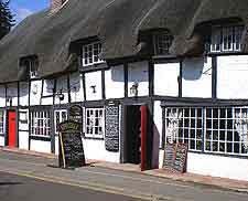 Picture of traditional thatched inn at Ringwood