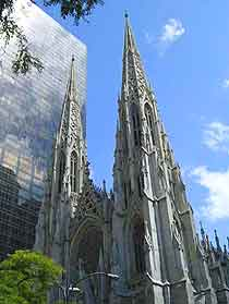 Photograph of New York's St. Patrick's Cathedral