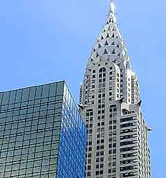 Photograph of the Chrysler Building