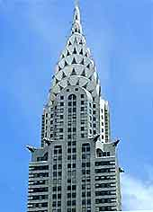 Image of the Chrysler Building, New York