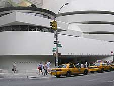 Photograph showing the Solomon R. Guggenheim Museum