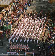 Picture of a New York parade