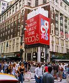 Image of New York Macy's store