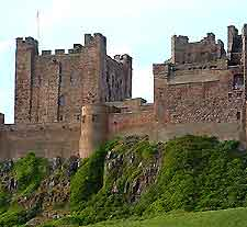 View of Bamburgh Castle
