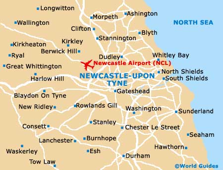 Small Newcastle Map