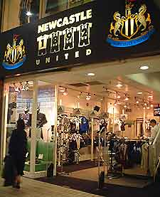 Newcastle Shopping